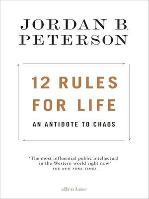 cover image of 12 Rules for Life