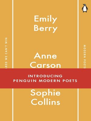 cover image of Penguin Modern Poets 1