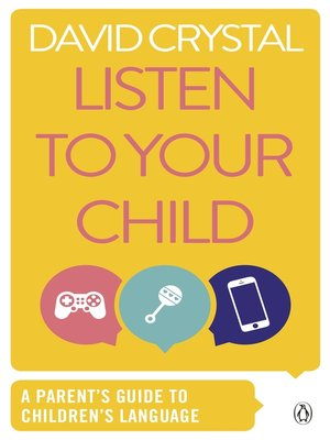 cover image of Listen to Your Child