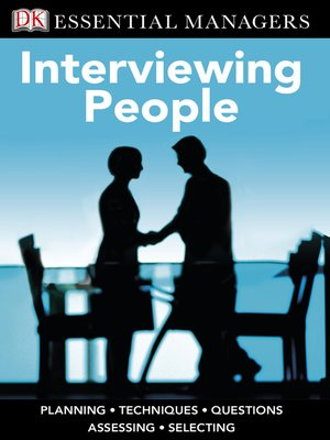cover image of Interviewing People