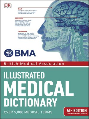 cover image of BMA Illustrated Medical Dictionary