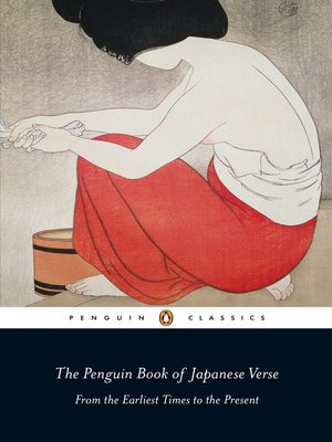cover image of The Penguin Book of Japanese Verse