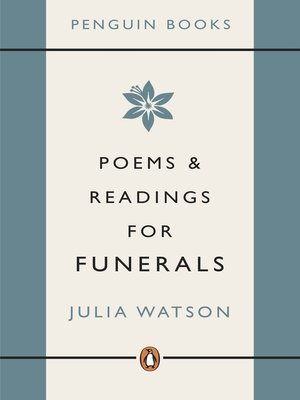 cover image of Poems and Readings for Funerals