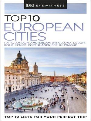 cover image of DK Eyewitness Top 10 European Cities
