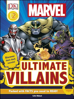 cover image of Marvel Ultimate Villains