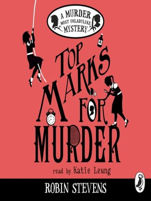 cover image of Top Marks For Murder