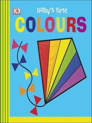 cover image of Baby's First Colours