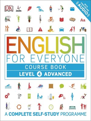 cover image of English for Everyone Course Book Level 4 Advanced