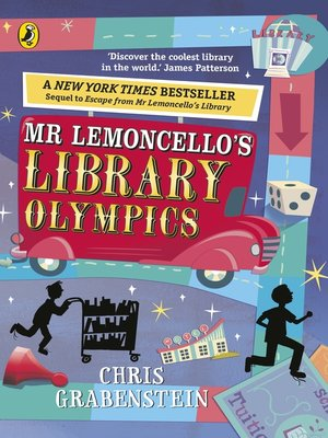 cover image of Mr Lemoncello's Library Olympics