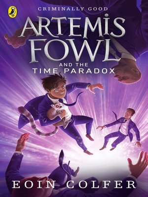 cover image of Artemis Fowl and the Time Paradox