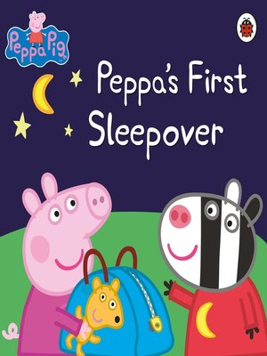 cover image of Peppa's First Sleepover