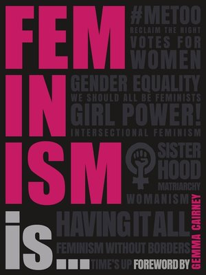 cover image of Feminism Is...