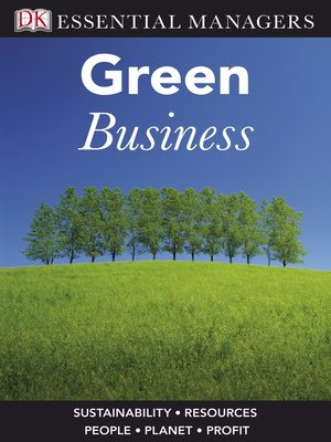 cover image of Green Business