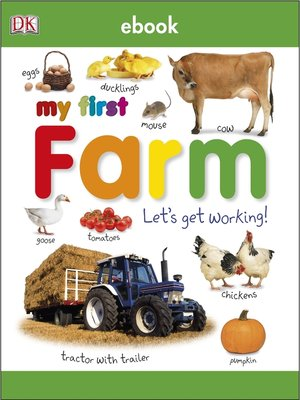 cover image of My First Farm Let's Get Working