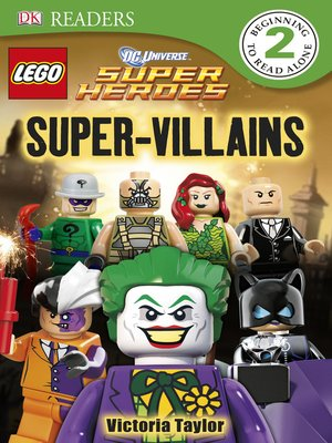 cover image of LEGO® DC Super Heroes Super Villains