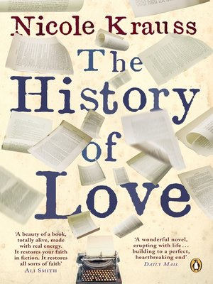 the history of love nicole krauss ebook free download