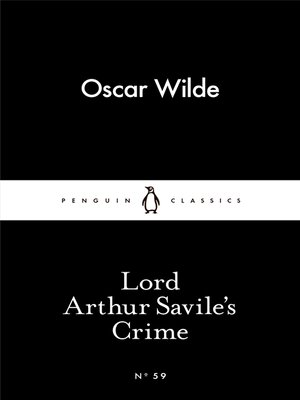 cover image of Lord Arthur Savile's Crime