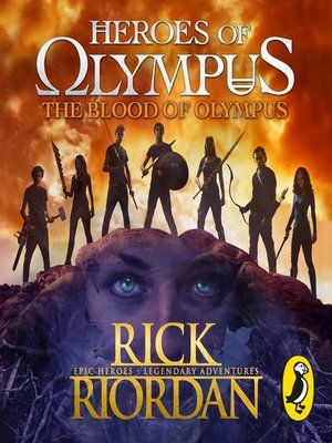 cover image of The Blood of Olympus (Heroes of Olympus Book 5)