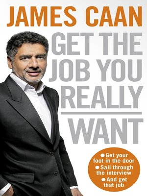 cover image of Get the Job You Really Want