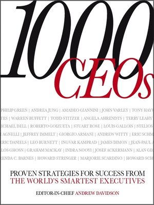 cover image of 1000 CEOs