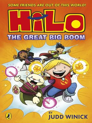 cover image of The Great Big Boom