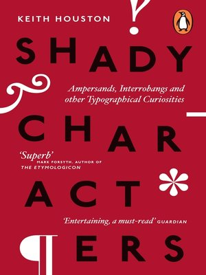 cover image of Shady Characters