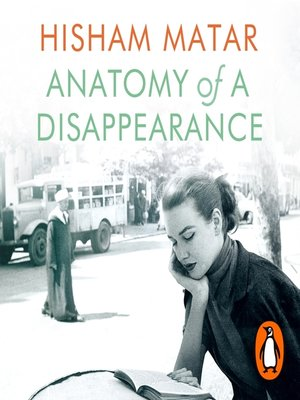 cover image of Anatomy of a Disappearance