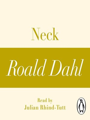 cover image of Neck (A Roald Dahl Short Story)