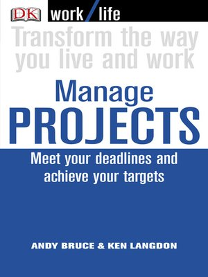 cover image of Work/Life: Manage Projects