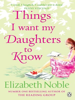 things i want my daughters to know elizabeth noble pdf