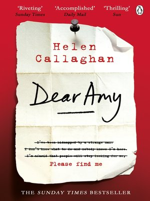 cover image of Dear Amy