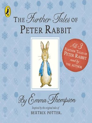 cover image of The Further Tales of Peter Rabbit