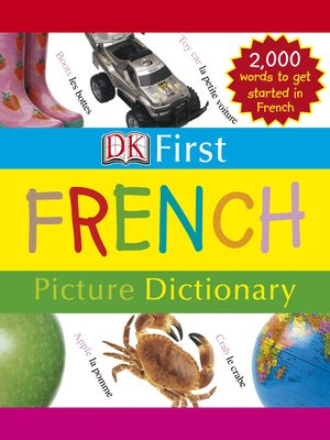 cover image of First French Picture Dictionary