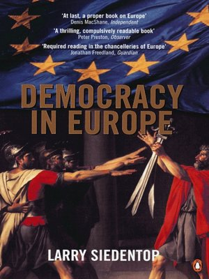 cover image of Democracy in Europe