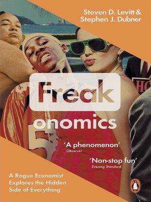 cover image of Freakonomics
