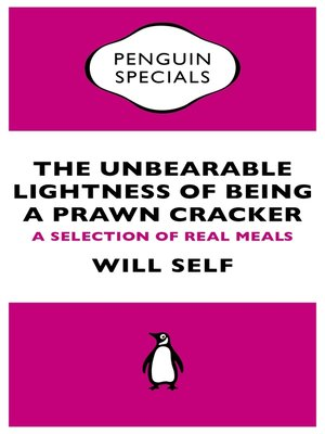 cover image of The Unbearable Lightness of Being a Prawn Cracker (Penguin Specials)