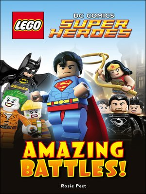 cover image of LEGO® DC Comics Super Heroes