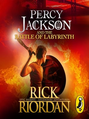 cover image of Percy Jackson and the Battle of the Labyrinth (Book 4)