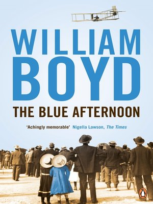 cover image of The Blue Afternoon