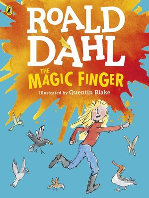 cover image of The Magic Finger