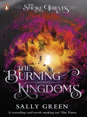 cover image of The Burning Kingdoms