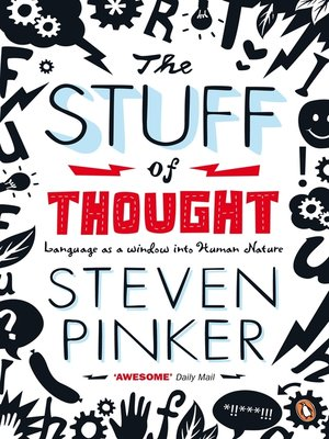 cover image of The Stuff of Thought