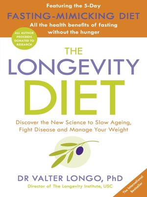 cover image of The Longevity Diet