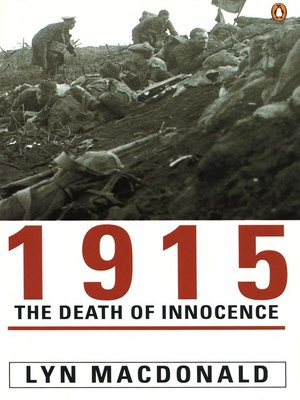 cover image of 1915:  the Death of Innocence