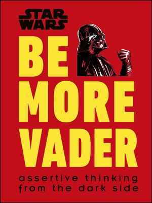 cover image of Star Wars Be More Vader