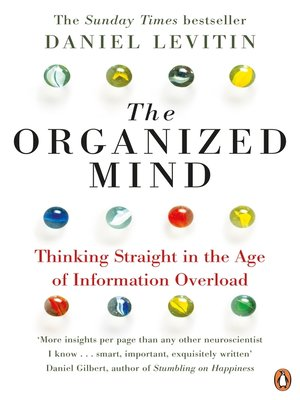 cover image of The Organized Mind