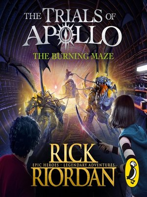 cover image of The Burning Maze