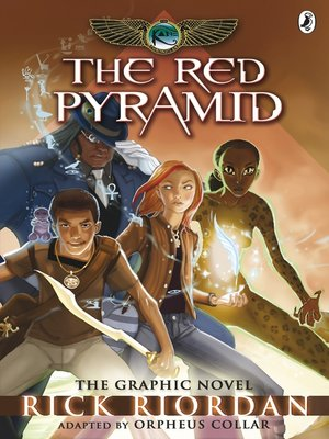 cover image of The Red Pyramid: The Graphic Novel