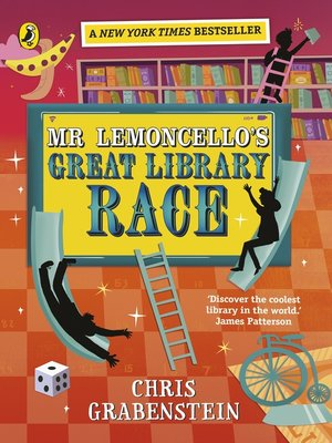 cover image of Mr Lemoncello's Great Library Race