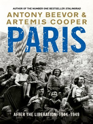 cover image of Paris After the Liberation:  1944--1949